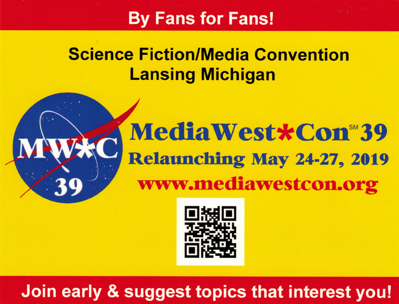 MediaWest*Con 39 -- Relaunching May 24-27, 2019